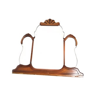 1920s Spanish Revival Triple Paneled Mirror For Sale