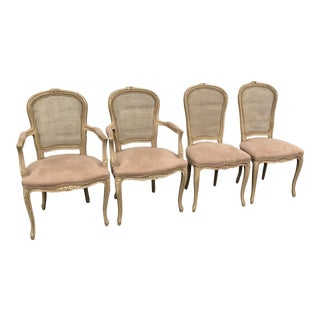 Late 20'th Century French Chairs Set of 4 For Sale