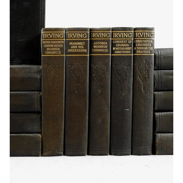Traditional Works of Washington Irving Books - Set of 15 For Sale - Image 3 of 4