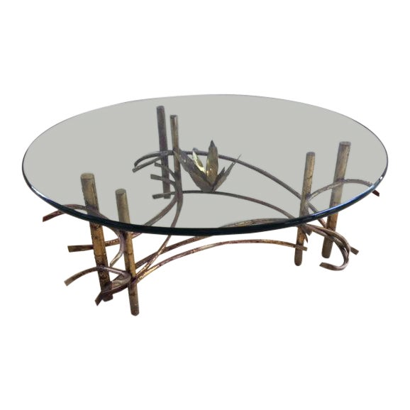 """Lotus"" Coffee Table Attributed to Silas Seandel For Sale"