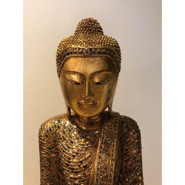 Asian 1950's Thailand Gandhara Buddha For Sale - Image 3 of 7