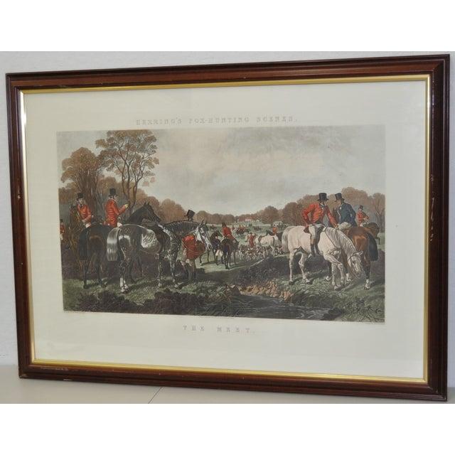 19th Century Fox Hunt Engravings - Set of 4 - Image 4 of 8