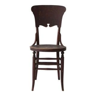 Antique Round Seat Chair