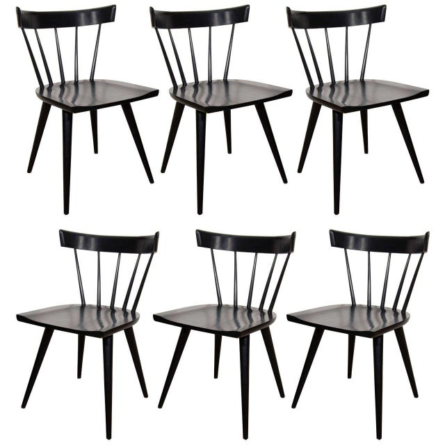 Paul McCobb Planner Group Set of 6 Dining Chairs For Sale In New York - Image 6 of 6
