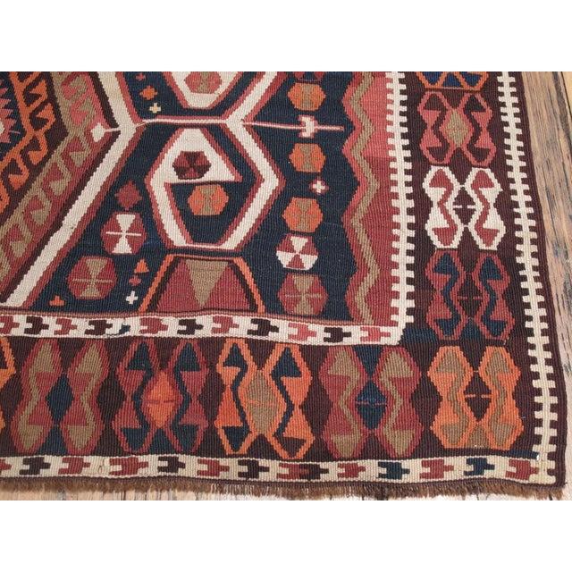 Islamic Antique Kagizman Kilim For Sale - Image 3 of 6