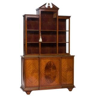 19th Century Georgian Display Cabinet For Sale