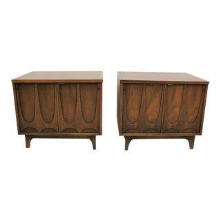 Mid Century Modern Broyhill Brasilia side tables, end tables, nightstands