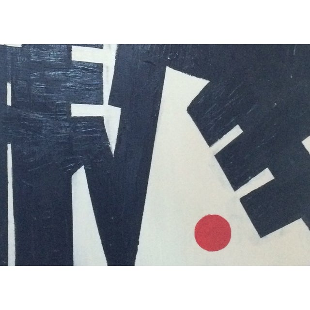 """Heartbreak"" Acrylic on Canvas Painting - Image 3 of 3"