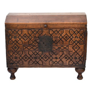 18th Century Spanish Colonial Coffer For Sale