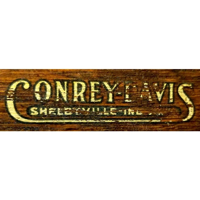 1910s Arts and Crafts Conrey-Davis Furniture Company Hall Tree Mission Style For Sale - Image 9 of 10