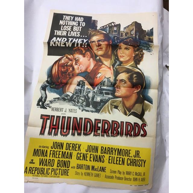 1952 Original Thunderbirds Movie Poster - Image 2 of 10