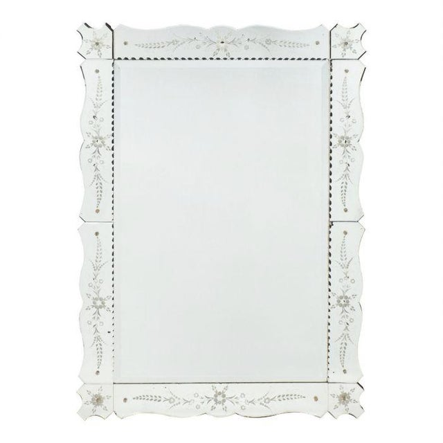Art Deco French Antique Mirror For Sale - Image 10 of 10