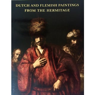 """""""Dutch & Flemish Paintings-The Hermitage""""-Abrams Publishing-1988 For Sale"""