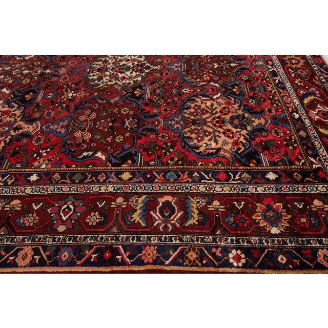 "Apadana - Antique Bakhtiari Rug, 10'6"" X 13'5"" For Sale In New York - Image 6 of 10"