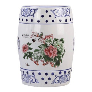 Modern Porcelain Garden Seat, Chinese Traditional Style For Sale