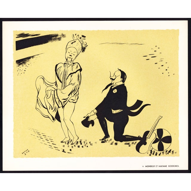 French 1944 Lithographs - Circus: # 4 & 22 - A Pair For Sale - Image 3 of 7