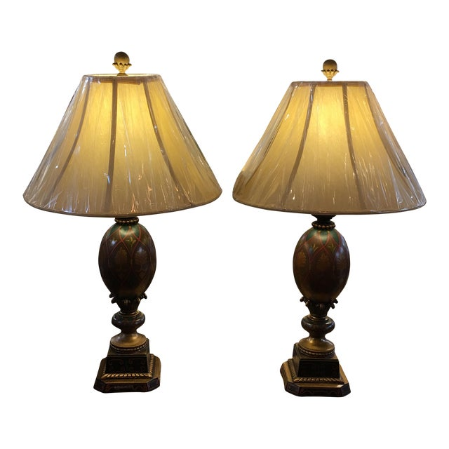 Kathy Ireland Table Lamps - A Pair - Image 1 of 8