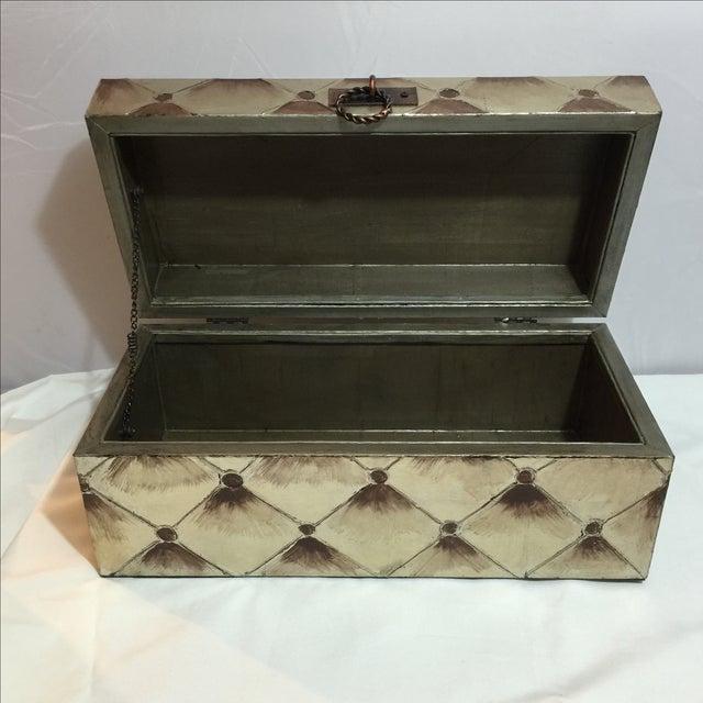Extra Large Silverleaf Decorative Box - Image 6 of 7