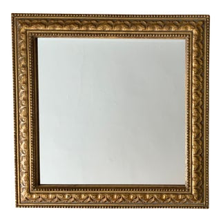 1980s Gold Leaf Mirror For Sale