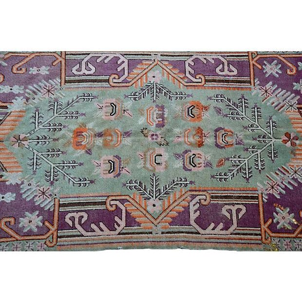 "Early-20th-C. Samarkand Rug - 8'9"" X 5' - Image 2 of 4"