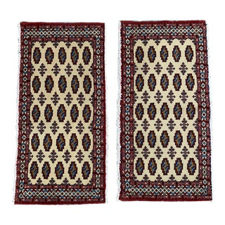 Vintage Persian Tribal Accent Rugs- 1′12″ × 2′12″ For Sale