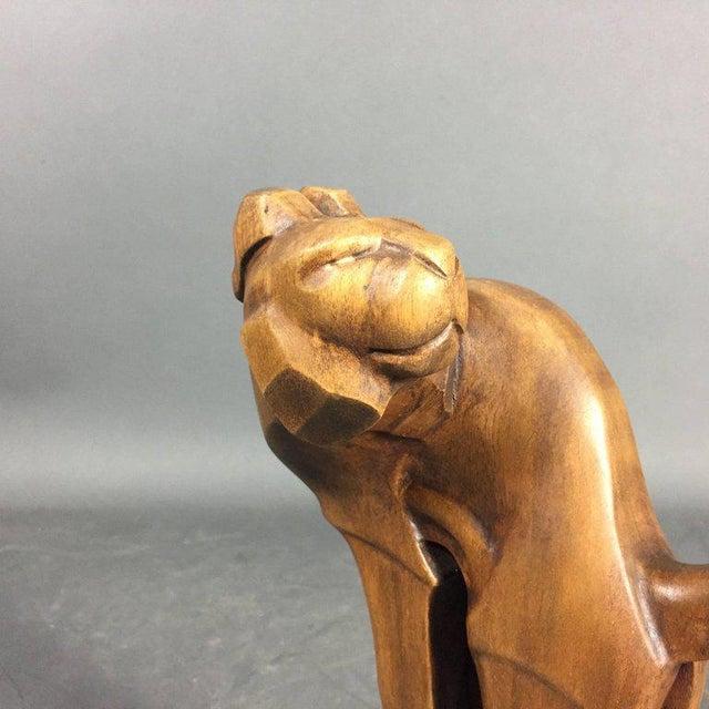 1920s 1920s Ukko Talvi Art Deco Wood Sculpture, Finland For Sale - Image 5 of 7
