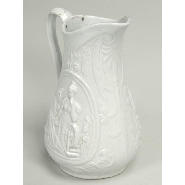 """English Staffordshire Pitcher """"Old Mother Hubbard"""" For Sale - Image 11 of 11"""