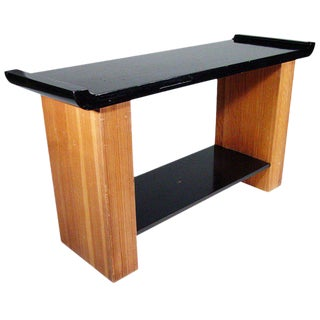 Paul Frankl Console Table for Johnson Furniture For Sale