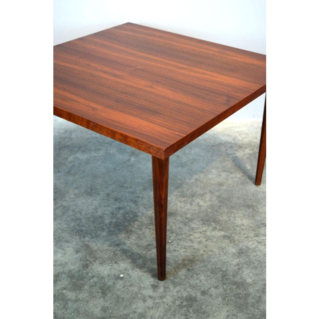 1950s Mid-Century Walnut Coffee or End Table For Sale - Image 5 of 8