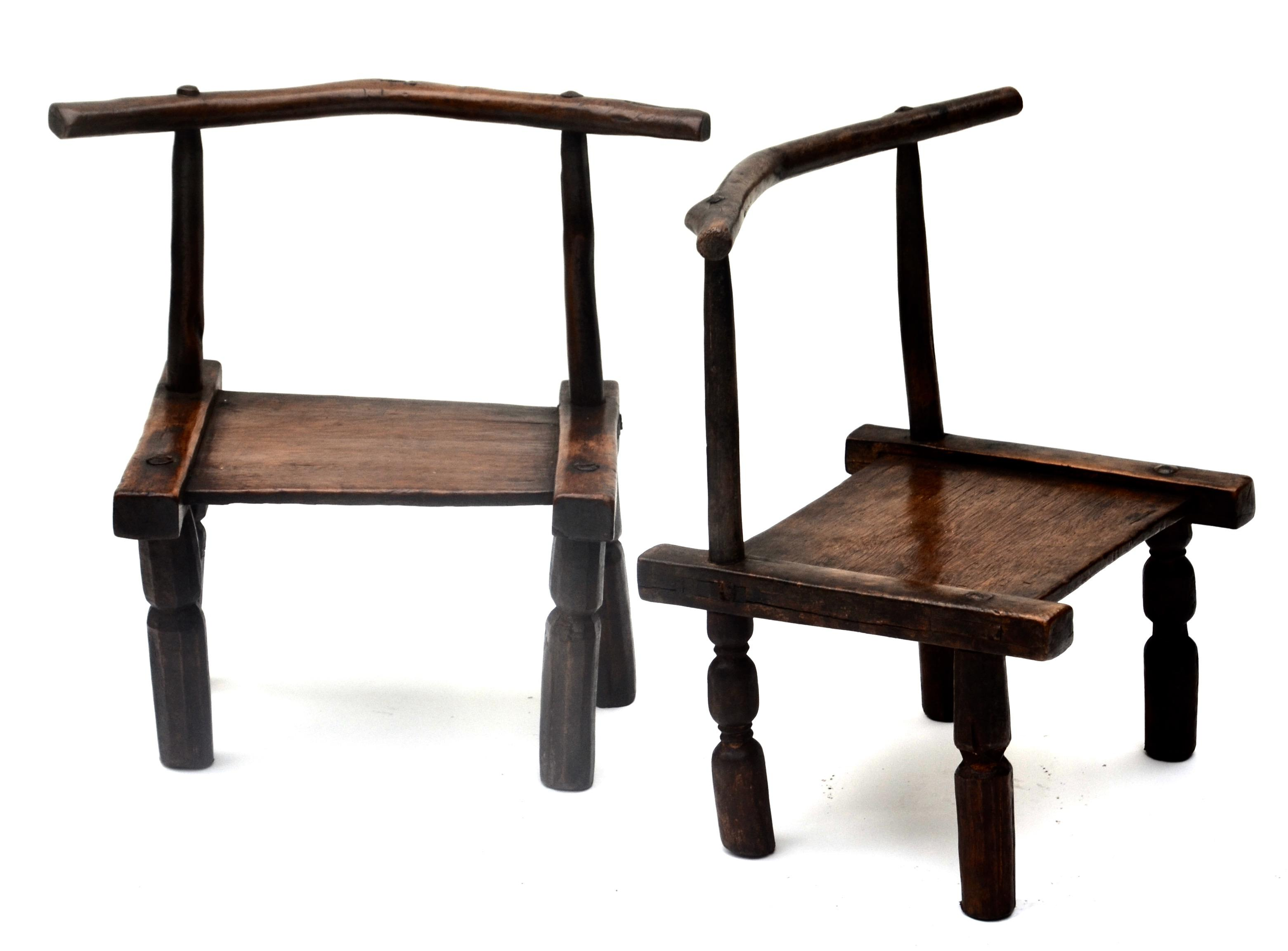 In Africau0027s Ivory Coast , The Senufo Chiefs And Families Have Used Low  Wooden Chairs For