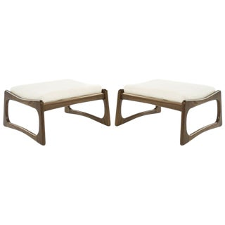 Set of Adrian Pearsall for Crafts Associates Footstools, 1950s For Sale