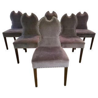 Modern Mr. Brown London Birgit Chairs- Set of 6 For Sale