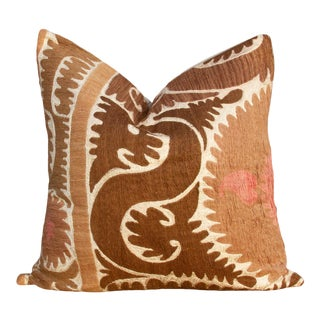 Riona Suzani Square Pillow For Sale