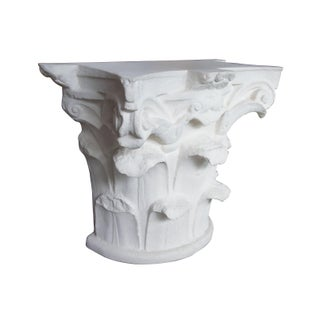 Spanish Michael Taylor Designs Faux Stone Console Table Preview