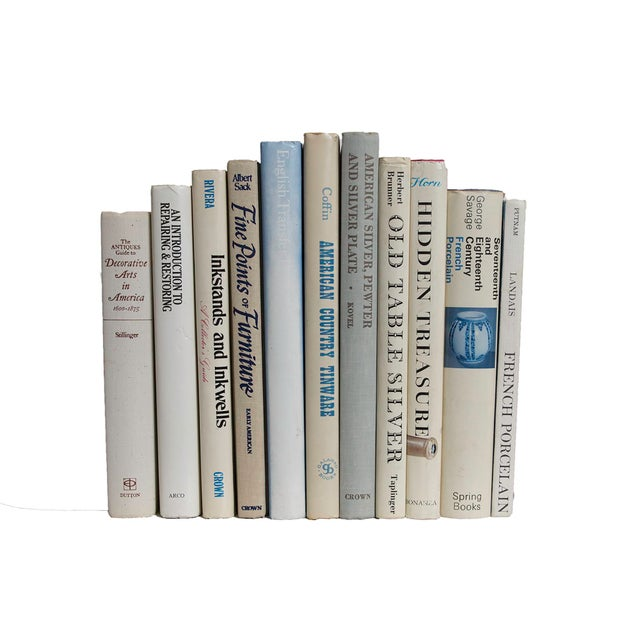 Antique Collecting Book Set - Set of 11 For Sale - Image 4 of 4