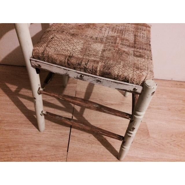 Shabby Chic Ladder Back Chair - Image 4 of 6