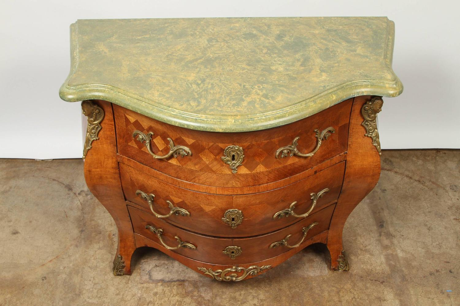 Sophisticated Swedish Rococo Bombay Chest