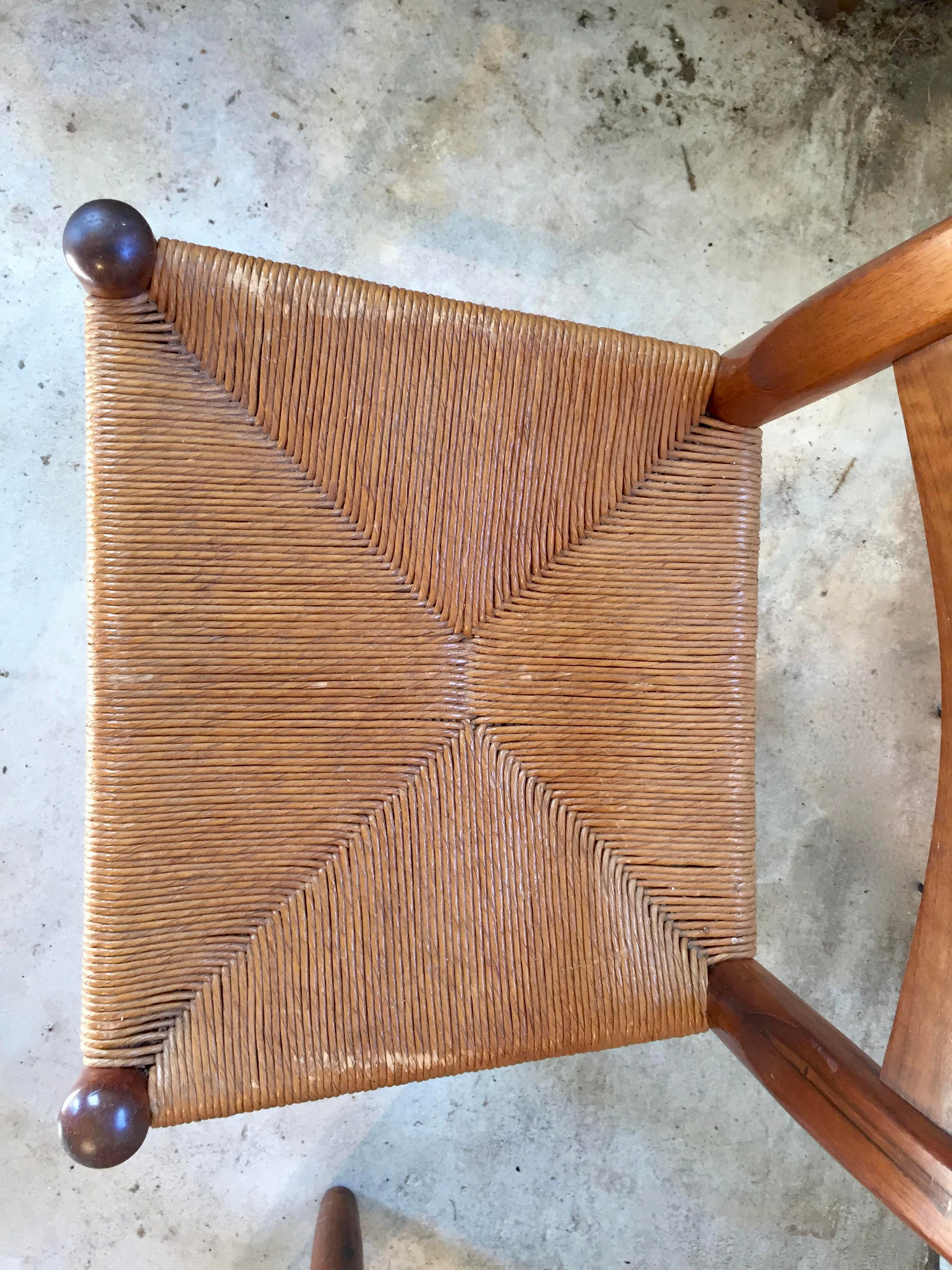 Walnut Clore Dining Chairs   Set Of 6 For Sale   Image 7 Of 11
