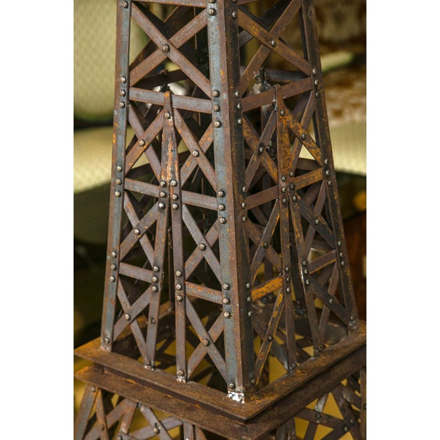 Eiffel Tower Sculpture - Image 6 of 9