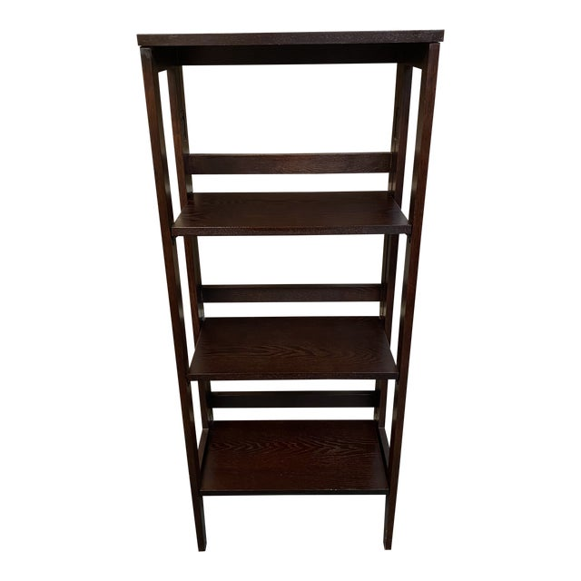 Folding Bookcase For Sale