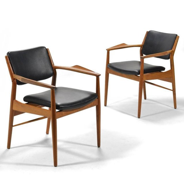 Sibast Møbler Arne Vodder Armchairs by Sibast For Sale - Image 4 of 8