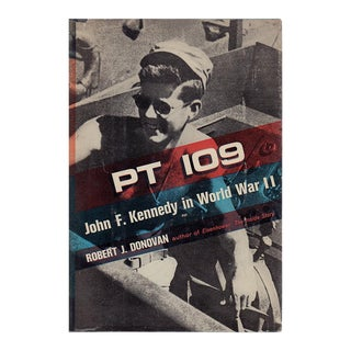"""1961 """"Pt 109: John F. Kennedy in World War II"""" Collectible Book For Sale"""