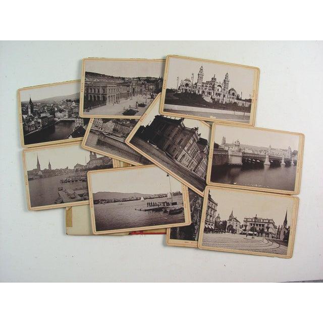 Zurich Switzerland Photo Book, 1896 For Sale - Image 4 of 4