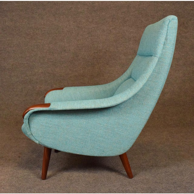 1960s 1960s Vintage Danish Modern Lounge Chair For Sale - Image 5 of 11