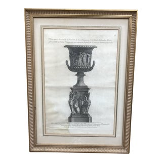 Antique Neoclassical Framed Print For Sale