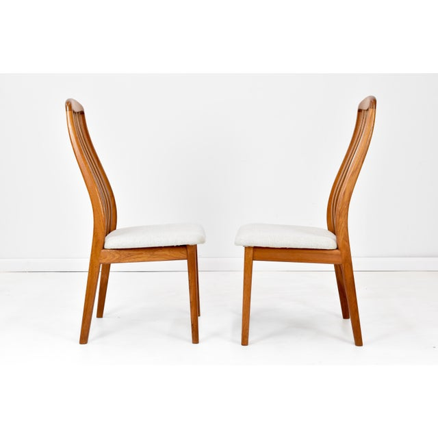Schou Andersen Møbelfabrik Danish Modern Teak Dining Chairs by Edward Valentinsen - Set of Six For Sale - Image 4 of 13