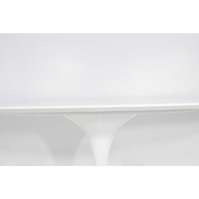 Mid-Century Modern Eero Saarinen for Knoll Oval Tulip Table For Sale - Image 3 of 9