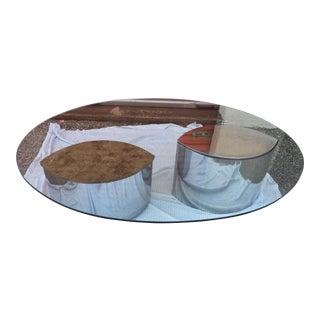 1970s Italian Cini Boeri Lunario for Gavina Coffee Table or Desk For Sale