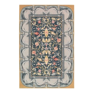 "Pasargad Sino Abusson Rug - 3'9"" X 5'9"" For Sale"