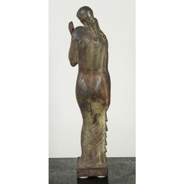 Gladys Lewis Bush Bronze Sculpture For Sale - Image 4 of 8
